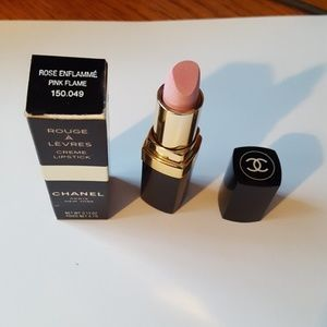 Authentic Chanel creme lipstick - rose enflamme